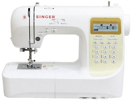 SINGER シンガー コンピュータミシン 文字縫い機能付き(ひらがな・数字・アルファベット・漢字) SN777DX
