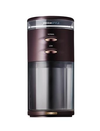 5の倍数日はカードエントリーで5倍/デバイスタイル 電動コーヒーミル ブラウンdeviceSTYLE コーヒーグラインダー GA-1X Special Edition GA-1X-BR