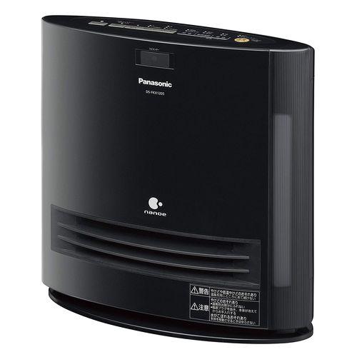パナソニック セラミックファンヒーター 加湿機能付 ひとセンサー付(ナノイーあり) ブラック DS-FKX1205-K