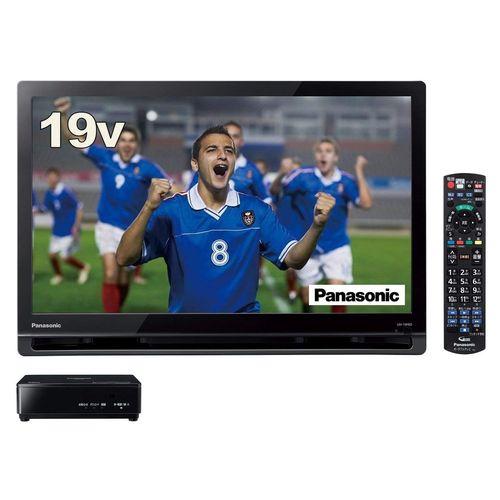 パナソニック 19V型 ポータブル 液晶テレビ プライベート・ビエラ ブラック UN-19F8-K