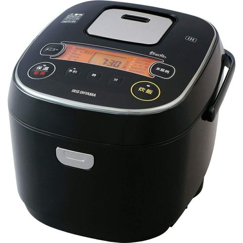 アイリスオーヤマ 炊飯器 IH式 10合 銘柄炊き分け機能付き IHジャー炊飯器 10合 ブラック RC-IE10-B