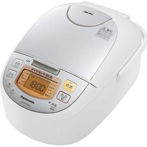 パナソニック IHジャー炊飯器 5.5合焚き シルバーホワイト SR-HVD1070-W