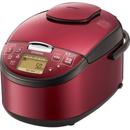 【最大1,200円オフクーポン】HITACHI 日立 圧力IH炊飯器 RZ-H10BJ(R) 5.5合