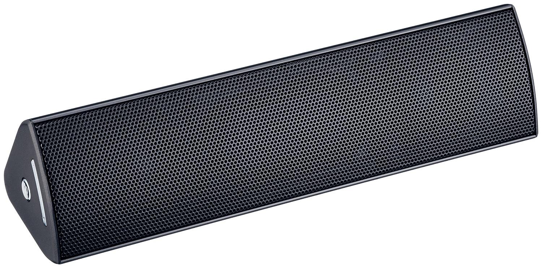 ELECOM エレコム iPhone6s/6s Plus対応 Bluetoothスピーカー コンパクト NFC対応 apt-X対応 3W+3W ブラック LBT-SPP300AVBK