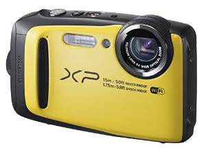 FUJIFILM 富士フィルム デジタルカメラ XP90 防水 ファインピックス FinePix イエロー FX-XP90Y