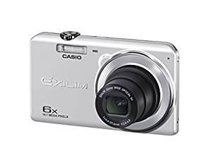 光学6倍ズーム 1610万画素 デジタルカメラ EX-ZS28SR 広角26mm CASIO シルバー プレミアムオート EXILIM