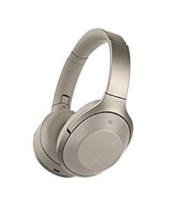 ソニー SONY ワイヤレスノイズキャンセリングヘッドホン グレーベージュ MDR-1000X