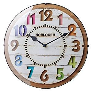 【4月1日限定 カードでエントリー最大ポイント20倍】インターフォルム(INTERFORM INC.) 電波掛け時計 FORLI - フォルリ - WH ホワイト CL-8332WH