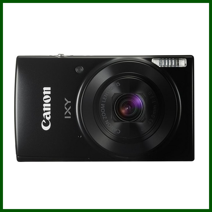 Canon コンパクトデジタルカメラ IXY 190 ブラック 光学10倍ズーム IXY190BK