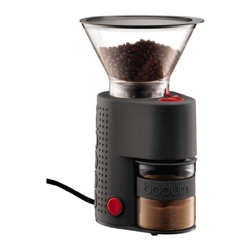 5の倍数日はカードエントリーで5倍/bodum コーヒーミル BISTRO 電気式コーヒーグラインダー 10903-01JP ブラック