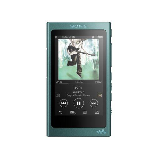 ソニー SONY ウォークマン Aシリーズ NW-A35 : 16GB ハイレゾ/Bluetooth/microSD対応 ビリジアンブルー NW-A35 L