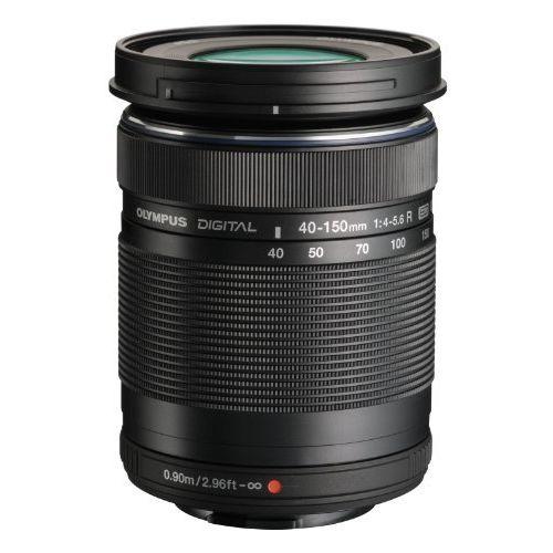 OLYMPUS 望遠ズームレンズ M.ZUIKO DIGITAL ED 40-150mm F4.0-5.6 R ブラック【レンズキット付属レンズ】