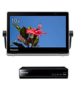 パナソニック 10V型 液晶 テレビ プライベート・ビエラ UN-10T7-K ポータブル 防水タイプ 500GB HDDレコーダー付 ブラック