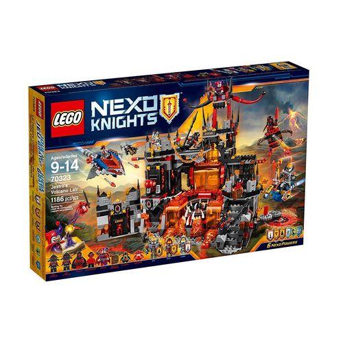 【最大1200円オフ限定クーポン配布中1月11日(金)09:59迄】レゴ (LEGO) ネックスナイツ 悪のメガマグマ神殿 70323