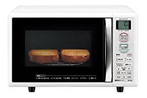 5の倍数日はカードエントリーで5倍/シャープ オーブンレンジ トースト機能付き 15L ホワイト RE-S5E-W