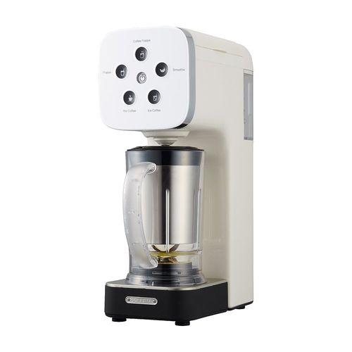5の倍数日はカードエントリーで5倍/ドウシシャ コーヒーメーカー クワトロチョイス ミキサー機能搭載 ホワイト QCR-85A WH