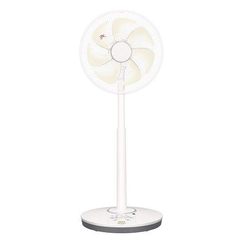 パナソニック リビング扇風機 温度センサー搭載 切/入タイマー付 シルキーベージュ F-CP338-C