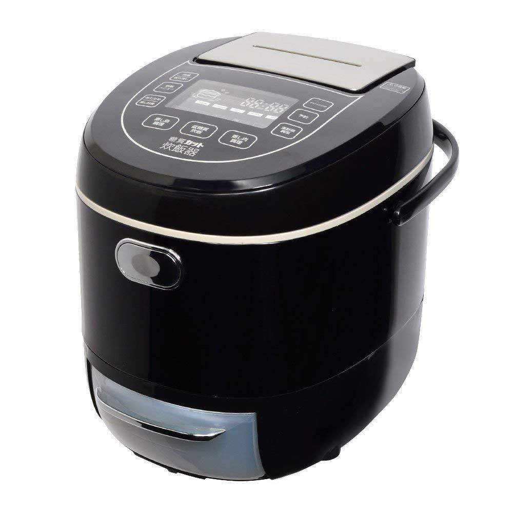 サンコー 炊飯ジャー 糖質カット炊飯器 (6合) LCARBRCK
