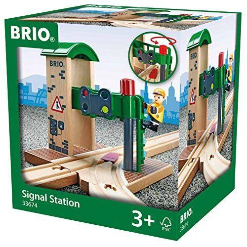 【キャッシュレス5%還元対象】BRIO WORLD シグナルステーション 33674