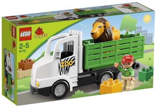 【最大1200円オフ限定クーポン配布中1月11日(金)09:59迄】レゴ (LEGO) デュプロ どうぶつえんトラック 6172