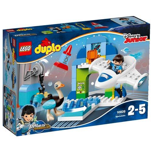 """レゴ (LEGO) デュプロ マイルズのトゥモローランドだいさくせん""""うちゅうステーション%ダブルクォーテ% 10826"""
