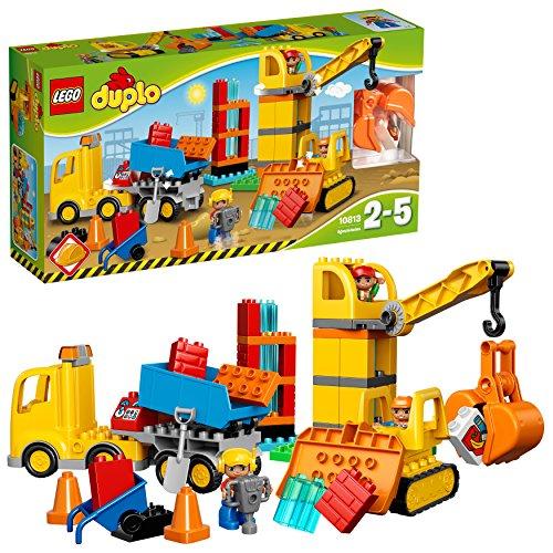 """レゴ (LEGO) デュプロ デュプロRのまち""""工事現場とはたらく車%ダブルクォーテ% 10813"""