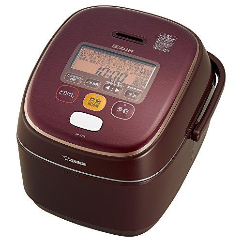 象印 炊飯器 一升 圧力IH式 極め炊き ボルドー NP-YT18-VD