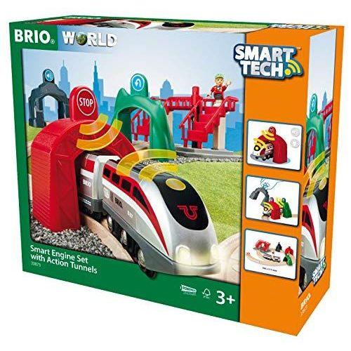BRIO WORLD スマートテック アクショントンネルトラベルセット 33873