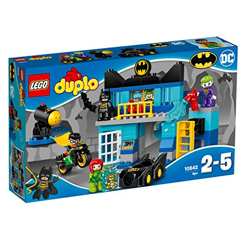 レゴ(LEGO)デュプロ バットマン%ダブルクォーテ%バットケイブのたたかい%ダブルクォーテ% 10842