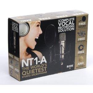 マイク機材フルセット Rode NT1A Anniversary Vocal Condenser Microphone Package 並行輸入品