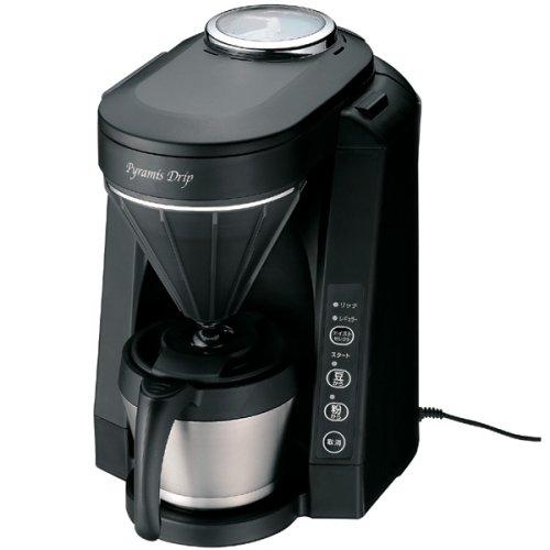 TWINBIRD 全自動コーヒーメーカー ブラック CM-D456B