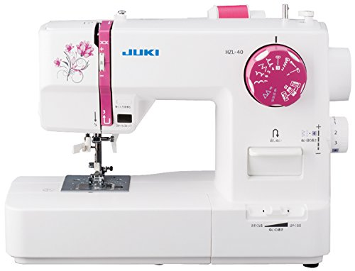 JUKI 電子ミシン 取扱説明DVD付き HZL-40