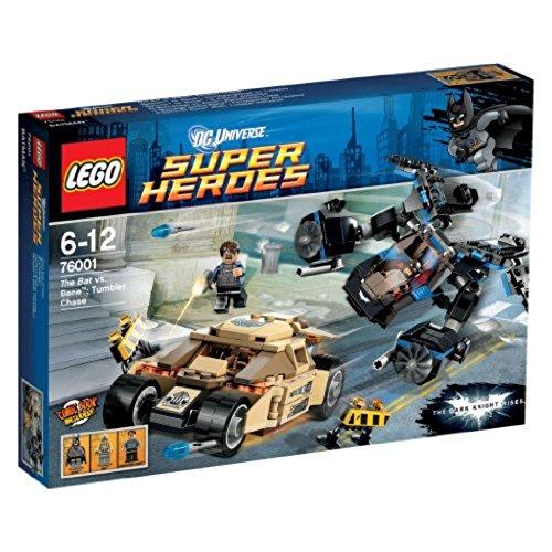 レゴ (LEGO) スーパー・ヒーローズ バットマン vs ベイン?:タンブラー・チェイス 76001