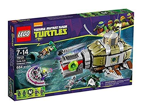 レゴ (LEGO) ミュータント タートルズ タートルズ潜水艦の海中追跡 79121