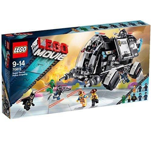 レゴ (LEGO) ムービー 超秘密警察のドロップシップ 70815