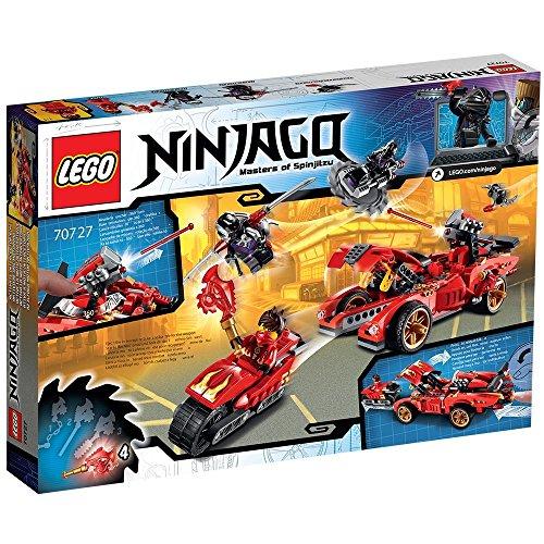 レゴ (LEGO) ニンジャゴー X-1 ニンジャ・チャージャー 70727
