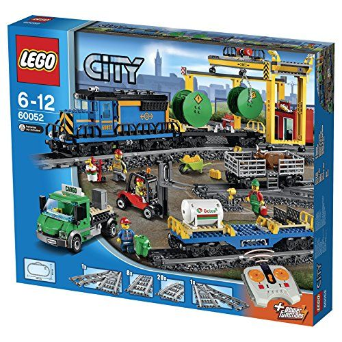 【最大1200円オフ限定クーポン配布中1月11日(金)09:59迄】レゴ (LEGO) シティ カーゴトレイン 60052