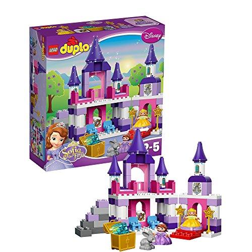 レゴ (LEGO) デュプロ ちいさなプリンセス ソフィア %ダブルクォーテ%王さまのおしろ%ダブルクォーテ% 10595
