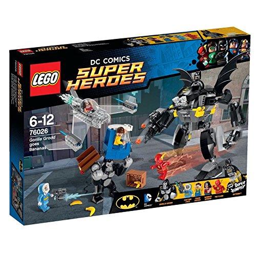 レゴ (LEGO) スーパー・ヒーローズ ゴリラ・グロッド大あばれ 76026