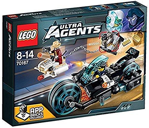 レゴ (LEGO) ウルトラ・エージェント インビザブルの金強盗 70167