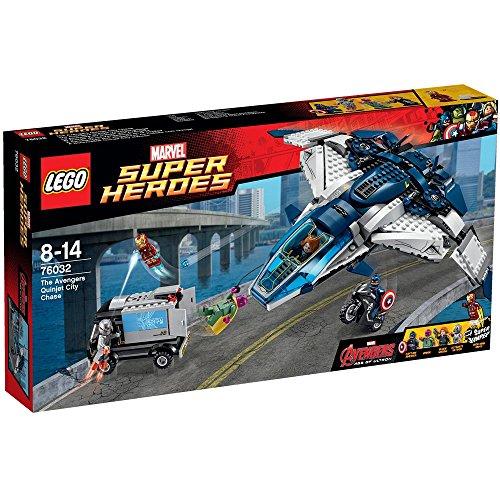レゴ (LEGO) スーパー・ヒーローズ アベンジャーズ クインジェットのシティーチェース 76032