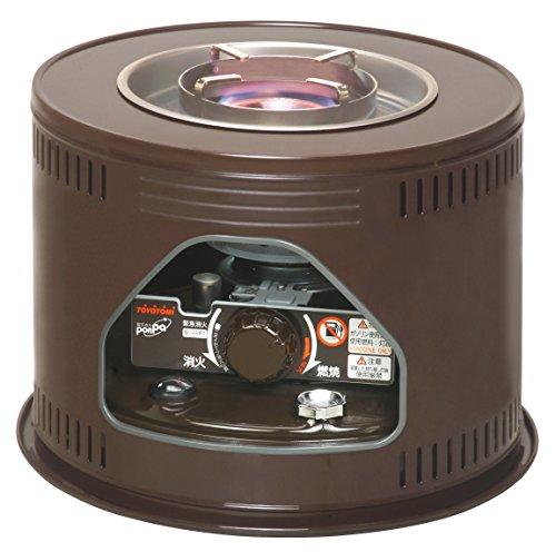 トヨトミ 石油こんろ 煮炊き専用 電子点火 木目 HH-210(M)