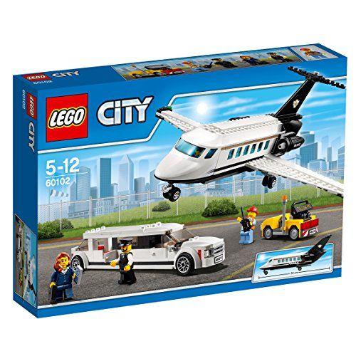 【フラッシュセール 最大1,200円オフクーポン配布中】レゴ (LEGO) シティ プライベートジェットとリムジン 60102