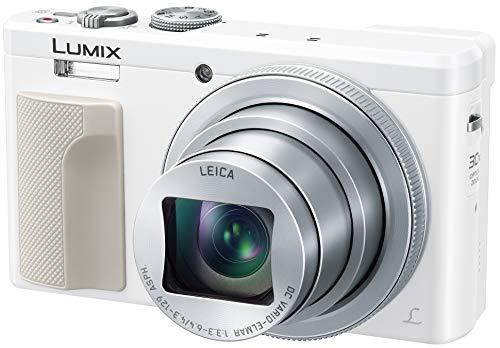 パナソニック コンパクトデジタルカメラ ルミックス TZ85 光学30倍 ホワイト DMC-TZ85-W