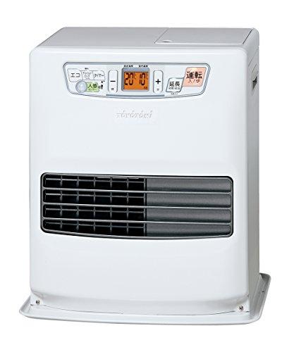 トヨトミ 石油ファンヒーター (木造9畳まで/コンクリート12畳まで) 人感センサー搭載 日本製 ホワイト LC-S33G(W)