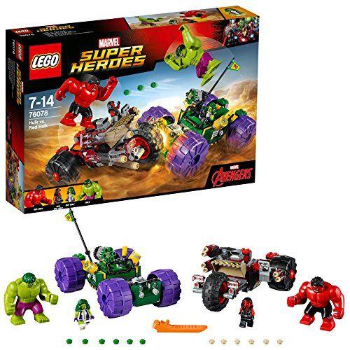 レゴ LEGO スーパー ヒーローズ 爆安プライス 絶品 レッドハルク 76078 vs ハルク