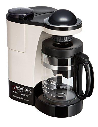 パナソニック ミル付き浄水コーヒーメーカー カフェオレ NC-R400-C