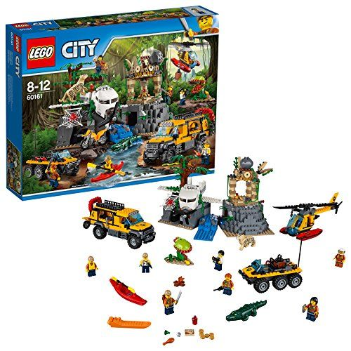 レゴ(LEGO)シティ ジャングル探検隊 60161