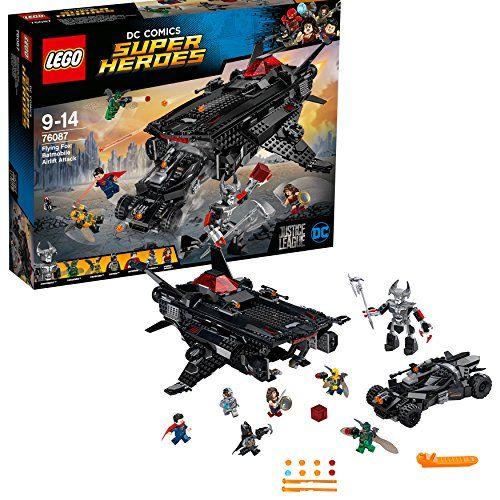 【最大1200円オフ限定クーポン配布中1月11日(金)09:59迄】レゴ(LEGO)スーパー・ヒーローズ フライングフォックス:バットモービル・エアーリフト・アタック 76087