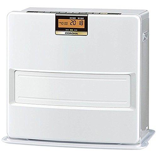 コロナ 石油ファンヒーター (木造15畳まで/コンクリート20畳まで) VXシリーズ パールホワイト FH-VX5717BY(W)